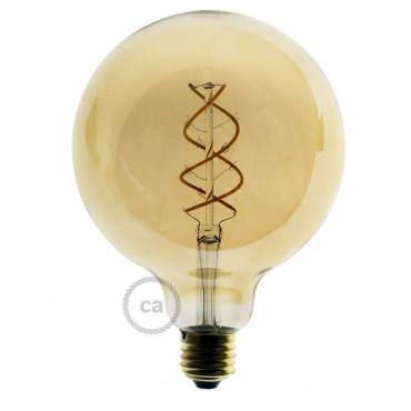 Ampoule Dorée LED - Globe...