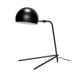 lampe de table trepied noir