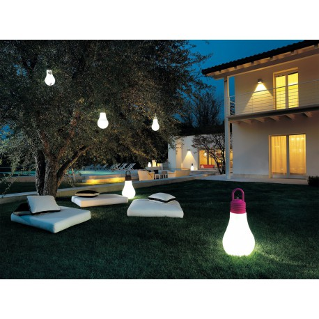 SUSPENSION OUTDOOR LADINA FUSCHIA IP65 E27 20W