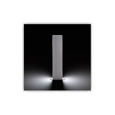 BORNE DE JARDIN TALIA 36 ALU IP65 LED 3W BLC CHAUD