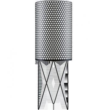 LAMPADAIRE PEDRERA PD2 E27 NOIR
