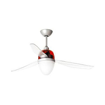 BRASSEUR D'AIR SWING ECO 3PALES ROUGE 127cm