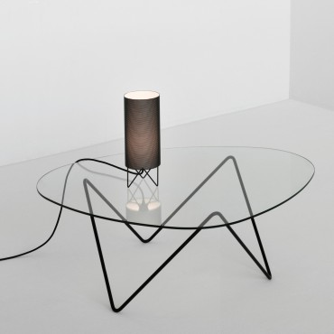 Lampe de table PEDRERA H2O blanc